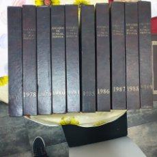 Libros: GEOGRAFÍA DE EUSKAL HERRIA 10 TOMOS. Lote 209561421