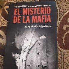 Libros: LIBRO EL MISTERIO DE LA MAFIA. Lote 210108207