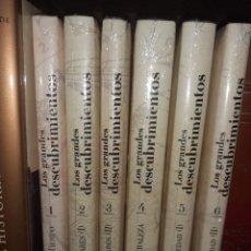 Libros: LOS GRANDES DESCUBRIMIENTOS. EDITORIAL PLANETA. 6 TOMOS.. Lote 210548691
