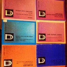 Libros: LOTE DE 7 TOMOS S, PUBLICACIONES DE EXCMA, D DE ALMERÍA. Lote 210723084