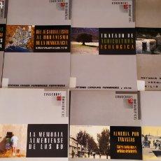 Libros: 16 TOMOS DE CUADERNOS MONOGRÁFICOS ALMERÍA. Lote 210729801
