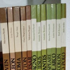 Libros: COLECCIÓN PROTAGONISTAS DE LA CIVILIZACIÓN.. Lote 213236190