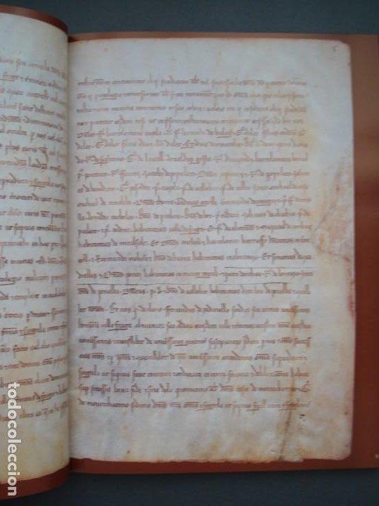 Libros: Libro de Privilegios de Fraga y sus Aldeas. I: Ed facsímil. II: Transcripción,estudios.Cortes ARAGÓN - Foto 4 - 215182983