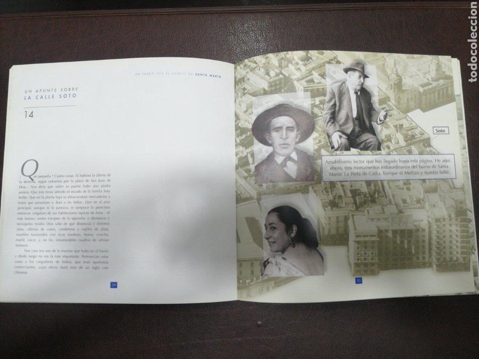 Libros: CÁDIZ, UN PASEO POR EL BARRIO DE SANTA MARIA, NUEVO - Foto 3 - 217028295