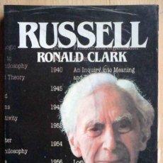 Libros: RUSSELL (RONALD CLARK) PRECINTADO - BIBLIOTECA SALVAT DE GRANDES BIOGRAFÍAS.. Lote 221323086