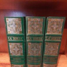 Libros: LA BIBLIA - BIBLIA DE JERUSALEN - ILUSTRADA POR GUSTAVO DORE - COLECCIÓN COMPLETA. Lote 221424707