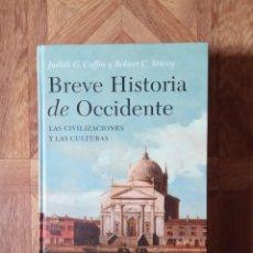 Libros: BREVE HISTORIA DE OCCIDENTE - LAS CIVILIZACIONES Y LAS CULTURAS. Lote 221538403
