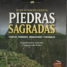 Libros: PIEDRAS SAGRADAS. JUAN IGNACIO COSTA MILLÁN. ED. NOWTILUS. 2007.. Lote 221939017