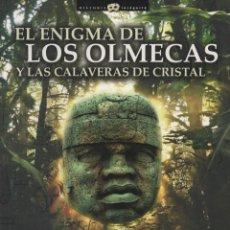 Libros: EL ENIGMA DE LOS OLMECAS Y LAS CALAVERAS DE CRISTAL. CARLOS ROCA GONZÁLEZ. ED. NOWTILUS. 1ªED. 2009.. Lote 221943556