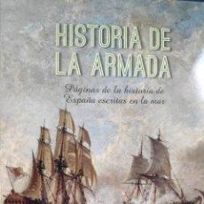 Libros: HISTORIA DE LA ARMADA. Lote 222036032
