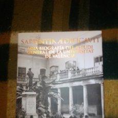 Libros: SAPIENTIA EDIFICAVIT. Lote 222158550