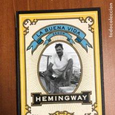 Libros: LA BUENA VIDA SEGÚN HEMINGWAY, DE HOTCNER. Lote 222198361