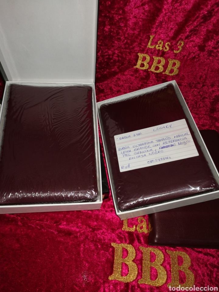 Libros: Biblia REINA VALERA 1960, LUJO - Foto 2 - 222918523