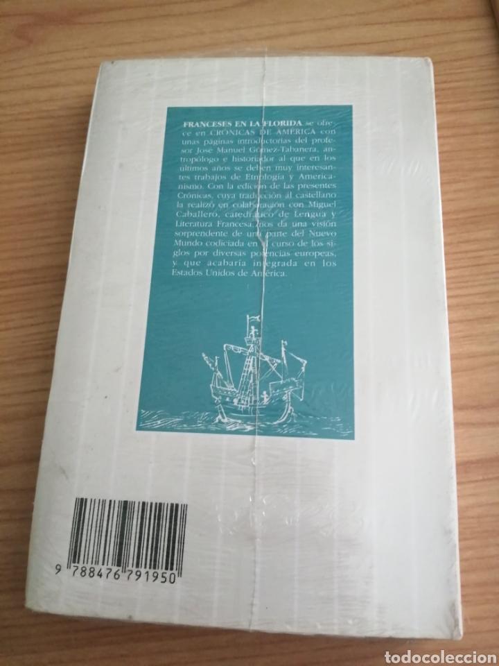 Libros: FRANCESES EN LA FLORIDA. VARIOS. EDICIÓN J. M. GÓMEZ-TABANERA. CRÓNICAS AMERICANA 62. PRESINTADO. - Foto 2 - 224455565