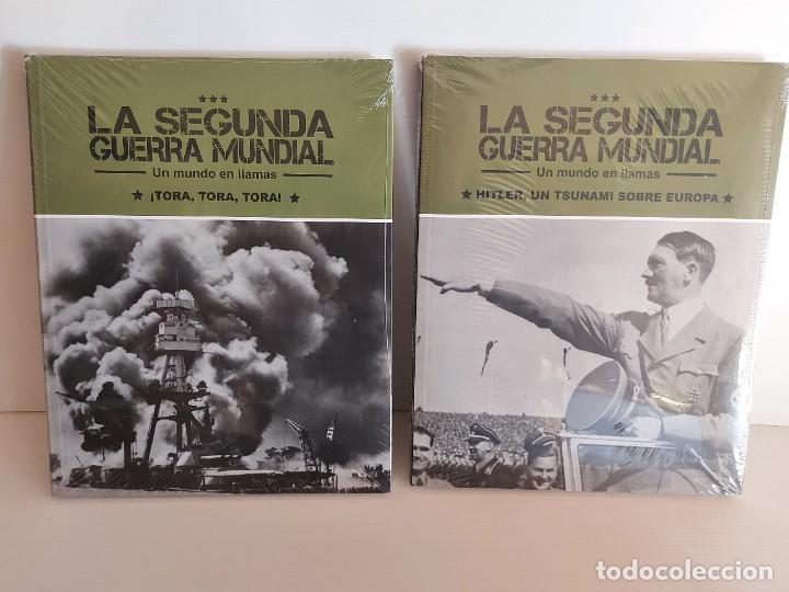 Libros: LA SEGUNDA GUERRA MUNDIAL / UN MUNDO EN LLAMAS / COMPLETA / 4 TOMOS PRECINTADOS / SIN DVD - Foto 2 - 227663700