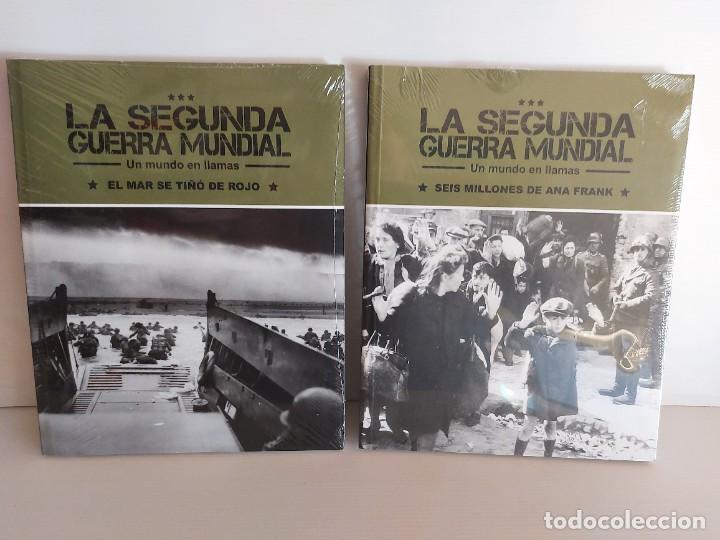 Libros: LA SEGUNDA GUERRA MUNDIAL / UN MUNDO EN LLAMAS / COMPLETA / 4 TOMOS PRECINTADOS / SIN DVD - Foto 3 - 227663700