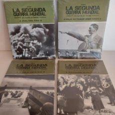 Libros: LA SEGUNDA GUERRA MUNDIAL / UN MUNDO EN LLAMAS / COMPLETA / 4 TOMOS PRECINTADOS / SIN DVD. Lote 227663700