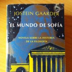 Libros: EL MUNDO DE SOFÍA JOOTEIN GAARDER. Lote 228369195
