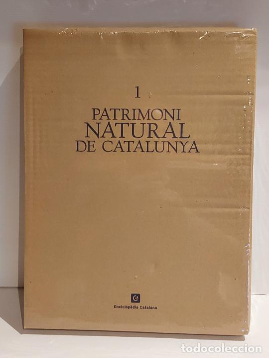 PATRIMONI NATURAL DE CATALUNYA / ENCICLOPÈDIA CATALANA / SIN ESTRENAR. EN CAJA ORIGINAL. AGOTADO. !! (Libros Nuevos - Historia - Otros)