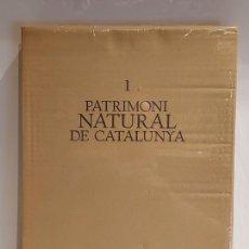Libros: PATRIMONI NATURAL DE CATALUNYA / ENCICLOPÈDIA CATALANA / SIN ESTRENAR. EN CAJA ORIGINAL. AGOTADO. !!. Lote 228958820