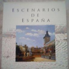 Libros: LIVRO ESCENARIOS DE ESPANA. Lote 229179410