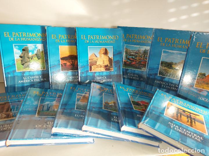 OCASIÓN !! EL PATRIMONIO DE LA HUMANIDAD / COMPLETA 12 TOMOS (11 PRECINTADOS)-CLUB INT. DEL LIBRO / (Libros Nuevos - Historia - Otros)