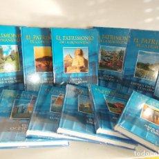 Libros: OCASIÓN !! EL PATRIMONIO DE LA HUMANIDAD / COMPLETA 12 TOMOS (11 PRECINTADOS)-CLUB INT. DEL LIBRO /. Lote 229323820