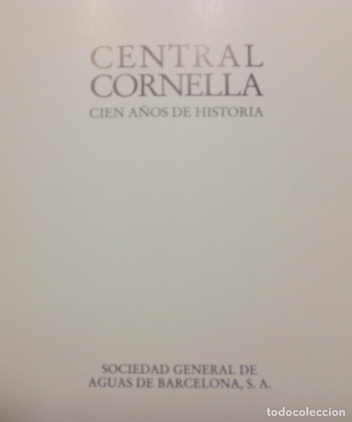 Libros: Central Cornella. Cien años de historia. Agbar. 29,5x23x2,5 cm. Nuevo impecable - Foto 3 - 230057855