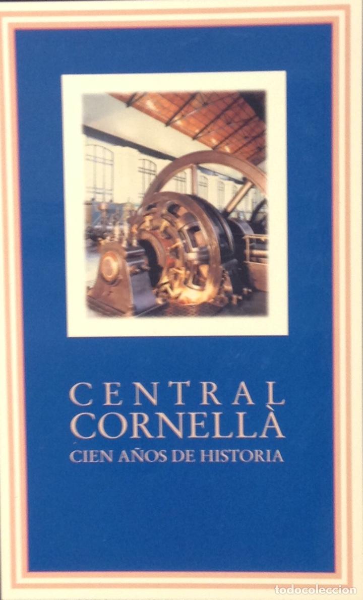 CENTRAL CORNELLA. CIEN AÑOS DE HISTORIA. AGBAR. 29,5X23X2,5 CM. NUEVO IMPECABLE (Libros Nuevos - Historia - Otros)