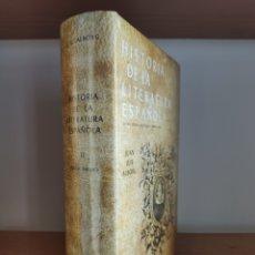 Libros: JUAN LUIS ALBORG.- HISTORIA DE LA LITERATURA ESPAÑOLA II (GREDOS). Lote 230650190