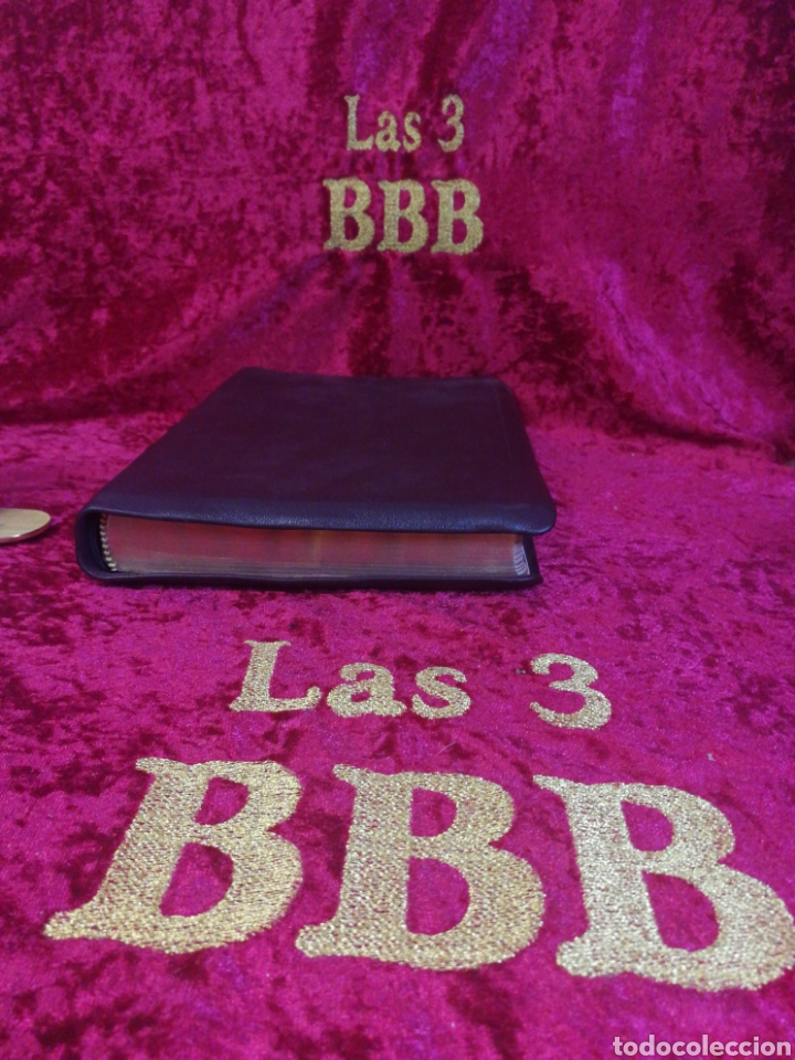 Libros: Biblia REINA VALERA 1960, LUJO - Foto 3 - 222918523