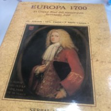 Libros: EUROPA 1700 EL GRAND TOUR DEL MENORQUIN BERNARDO JOSE - SERBAL. Lote 235633560