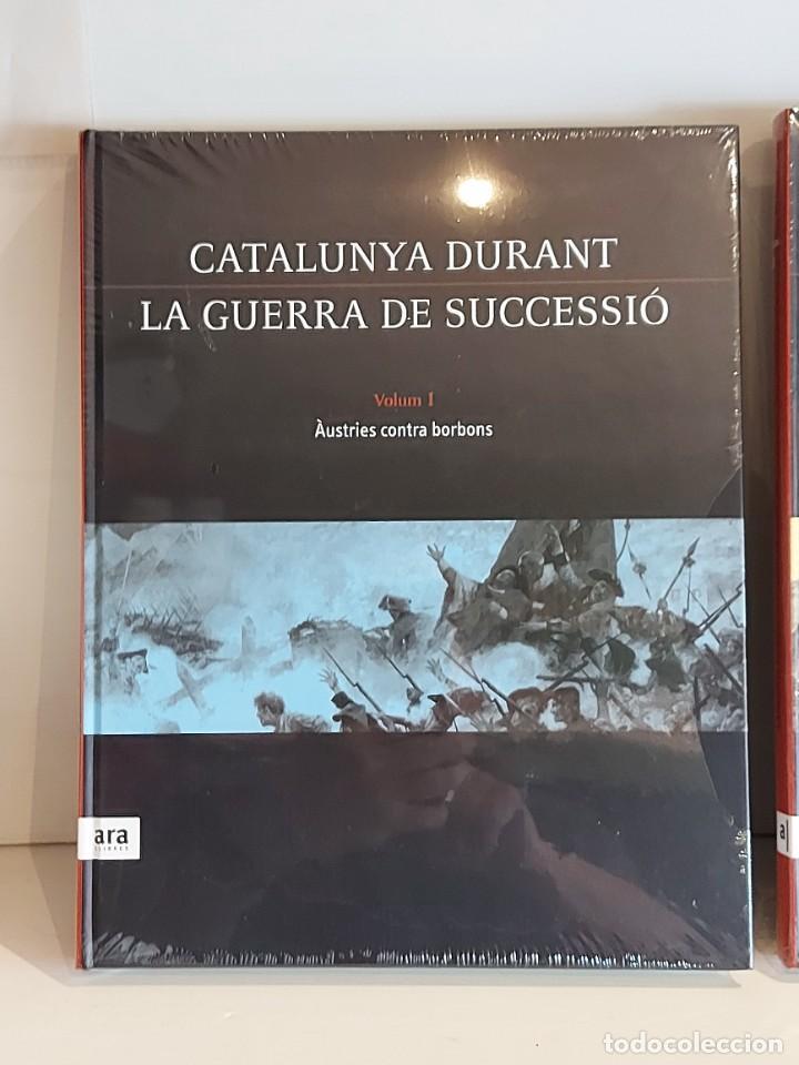Libros: CATALUNYA DURANT LA GUERRA DE SUCCESSIÓ / ED: ARA LLIBRES / COMPLETA 3 VOL. PRECINTADOS. - Foto 2 - 236357380