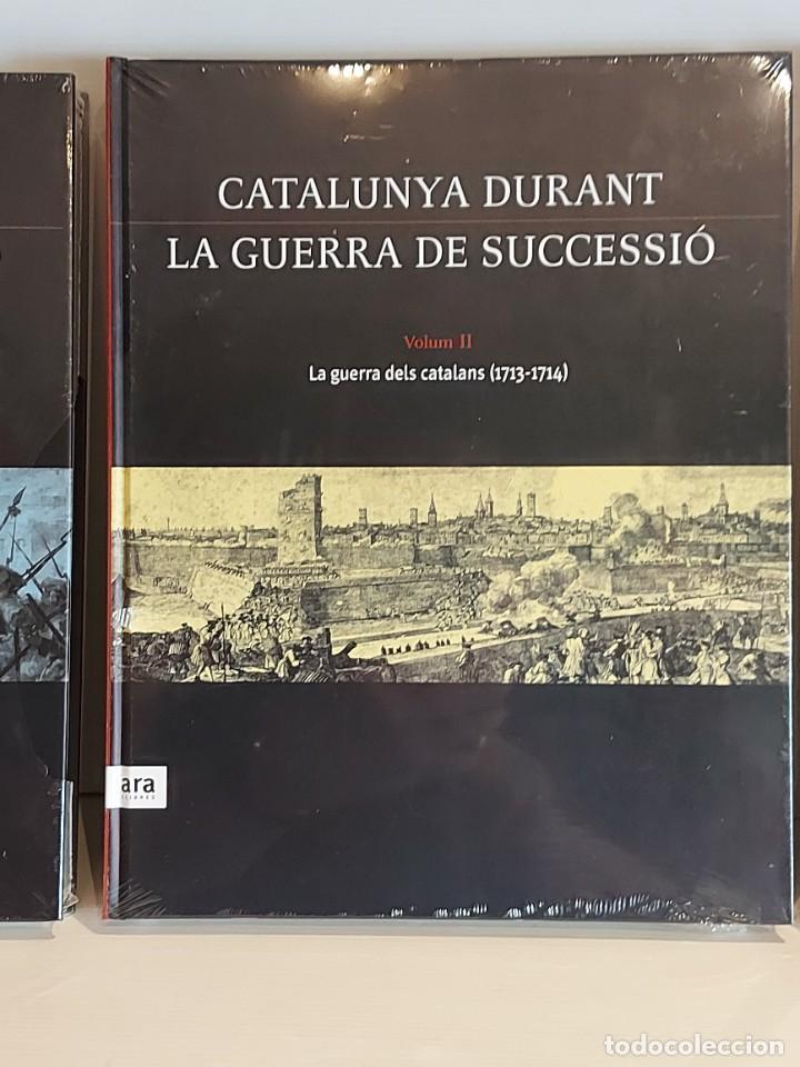 Libros: CATALUNYA DURANT LA GUERRA DE SUCCESSIÓ / ED: ARA LLIBRES / COMPLETA 3 VOL. PRECINTADOS. - Foto 3 - 236357380