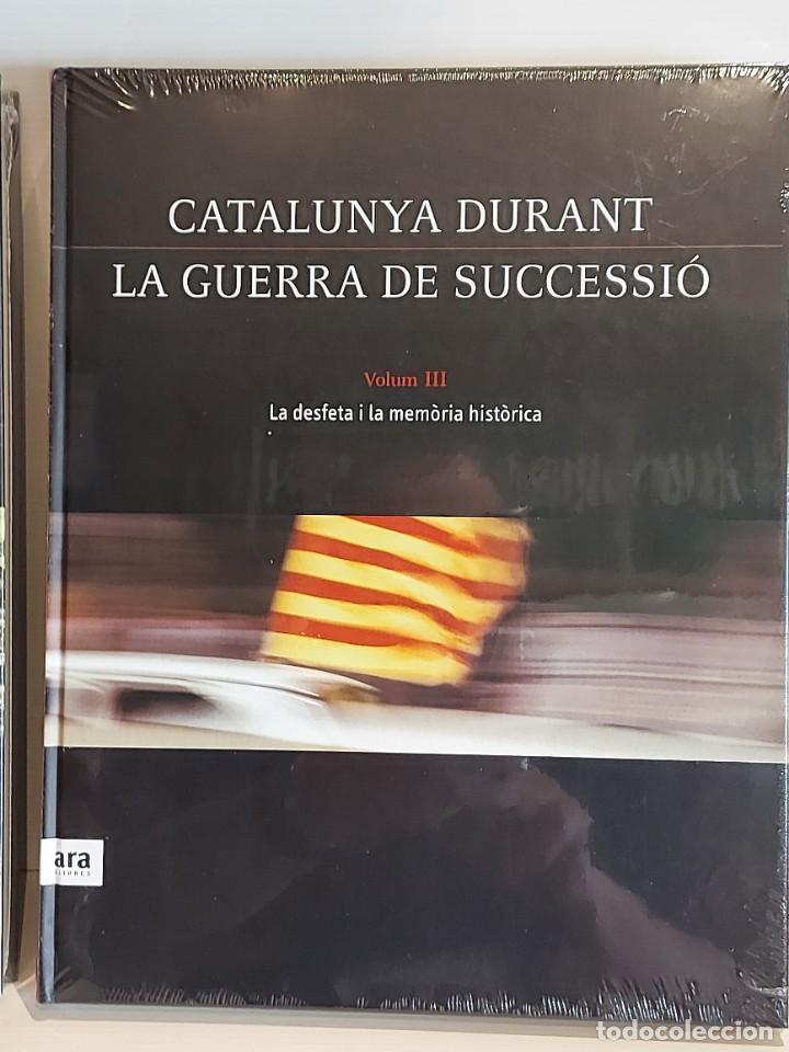 Libros: CATALUNYA DURANT LA GUERRA DE SUCCESSIÓ / ED: ARA LLIBRES / COMPLETA 3 VOL. PRECINTADOS. - Foto 4 - 236357380