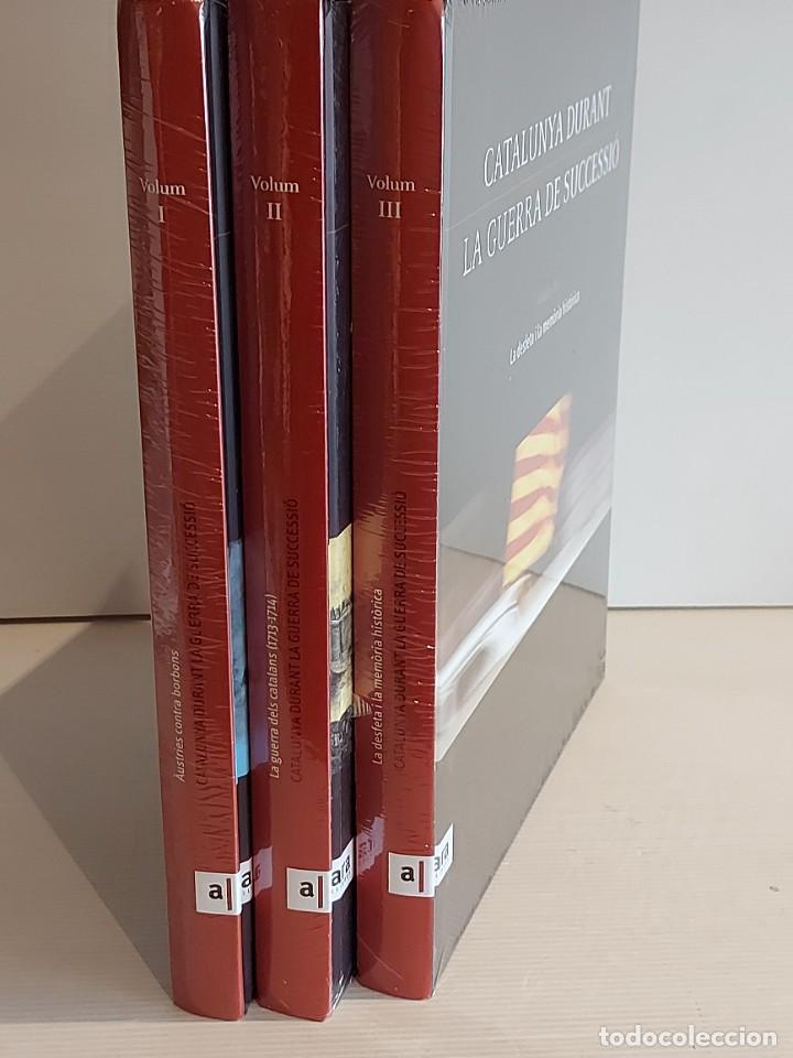 Libros: CATALUNYA DURANT LA GUERRA DE SUCCESSIÓ / ED: ARA LLIBRES / COMPLETA 3 VOL. PRECINTADOS. - Foto 5 - 236357380