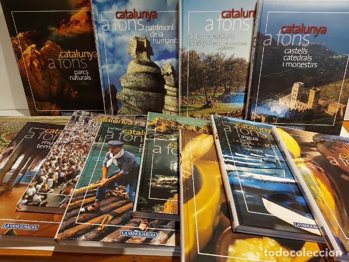 CATALUNYA A FONS / LA VANGUARDIA / ED: PLANETA D AGOSTINI / 12 TOMOS COMPLETA / NUEVOS / OCASIÓN !! (Libros Nuevos - Historia - Otros)