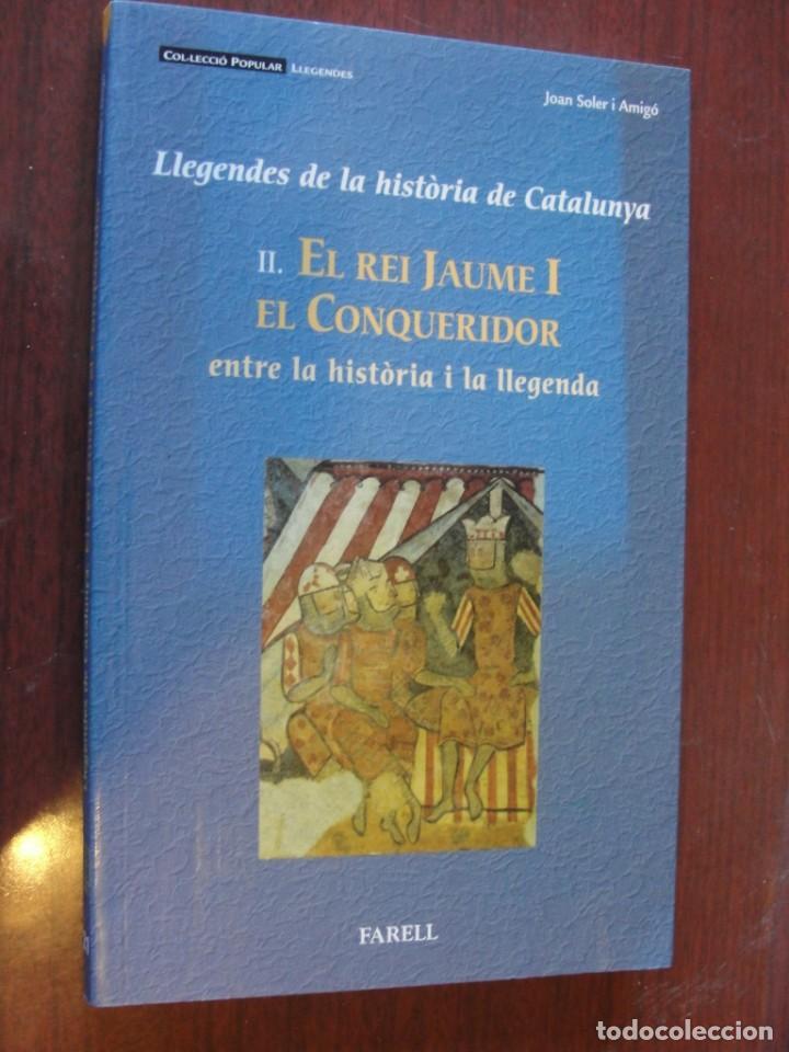 REI JAUME I EL CONQUERIDOR / HISTORIA CATALUNYA - SOLER AMIGO - DE LLIBRERIA - PORTS PAGATS (Libros Nuevos - Historia - Otros)