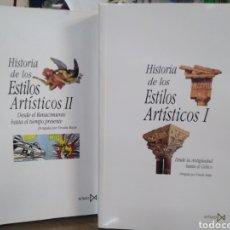Libri: HISTORIA DE LOS ESTILOS ARTÍSTICOS 2 TOMOS COMPLETO-URSULA HATJE-EDITA ISTMO 2009. Lote 238587410