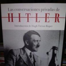 Libros: LAS CONVERSACIONES PRIVADAS DE HITLER.(1941-1944). CRÍTICA. Lote 240555765