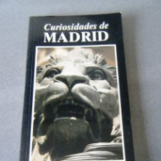 Libros: CURIOSIDADES DE MADRID. Lote 240739555