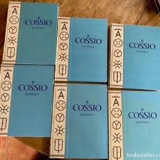 Libros: COLECCIÓN EL COSSÍO LOS TOROS // 6 TOMOS // 1996. Lote 241005255
