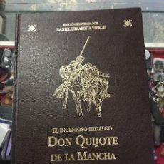 Libros: 2 TOMOS DE DON QUIJOTE DE LA MANCHA DE 2007. Lote 242361940