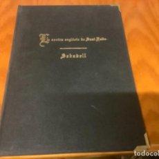 Libros: LA NOSTRA ESGLESIA DE SANT FELIU DE SABADELL. Lote 243930195
