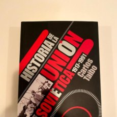 """Libros: """"HISTORIA DE LA UNIÓN SOVIÉTICA"""" - CARLOS TAIBO. Lote 244966180"""
