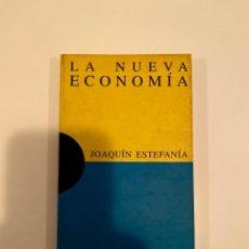 """Libros: """"LA NUEVA ECONOMÍA"""" - JOAQUÍN ESTEFANÍA. Lote 244980620"""