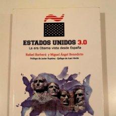 """Libros: """"ESTADOS UNIDOS 3.0"""" - RAFAEL BARBERÁ Y MIGUEL ÁNGEL BENEDICTO. Lote 245180275"""