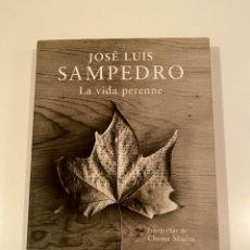 """Libros: """"LA VIDA PERENNE"""" - JOSÉ LUIS SAMPEDRO. Lote 245181660"""