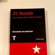 """Libros: """"EL PARTIDO"""" - RICHARD MCGREGOR. Lote 245184995"""