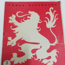 Libros: REVISTA TEMAS ESPAÑOLES. LEÓN.. Lote 245486045